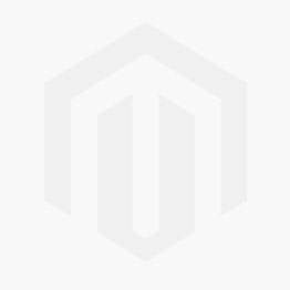 A light blue coloured vertical blind in a kitchen